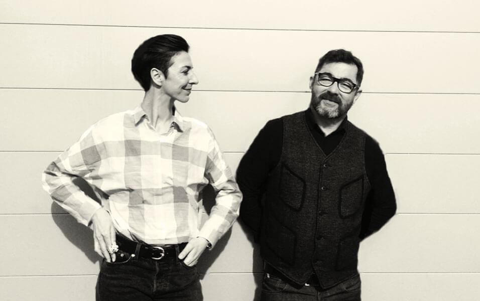 Bénédicte Baqué et Christian Hubert-Deslile, co-fondateurs de CHD ART MAKER.